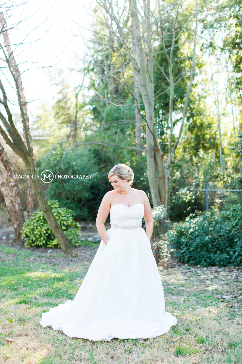 garden bridal portraits raleigh nc wedding photographer paige