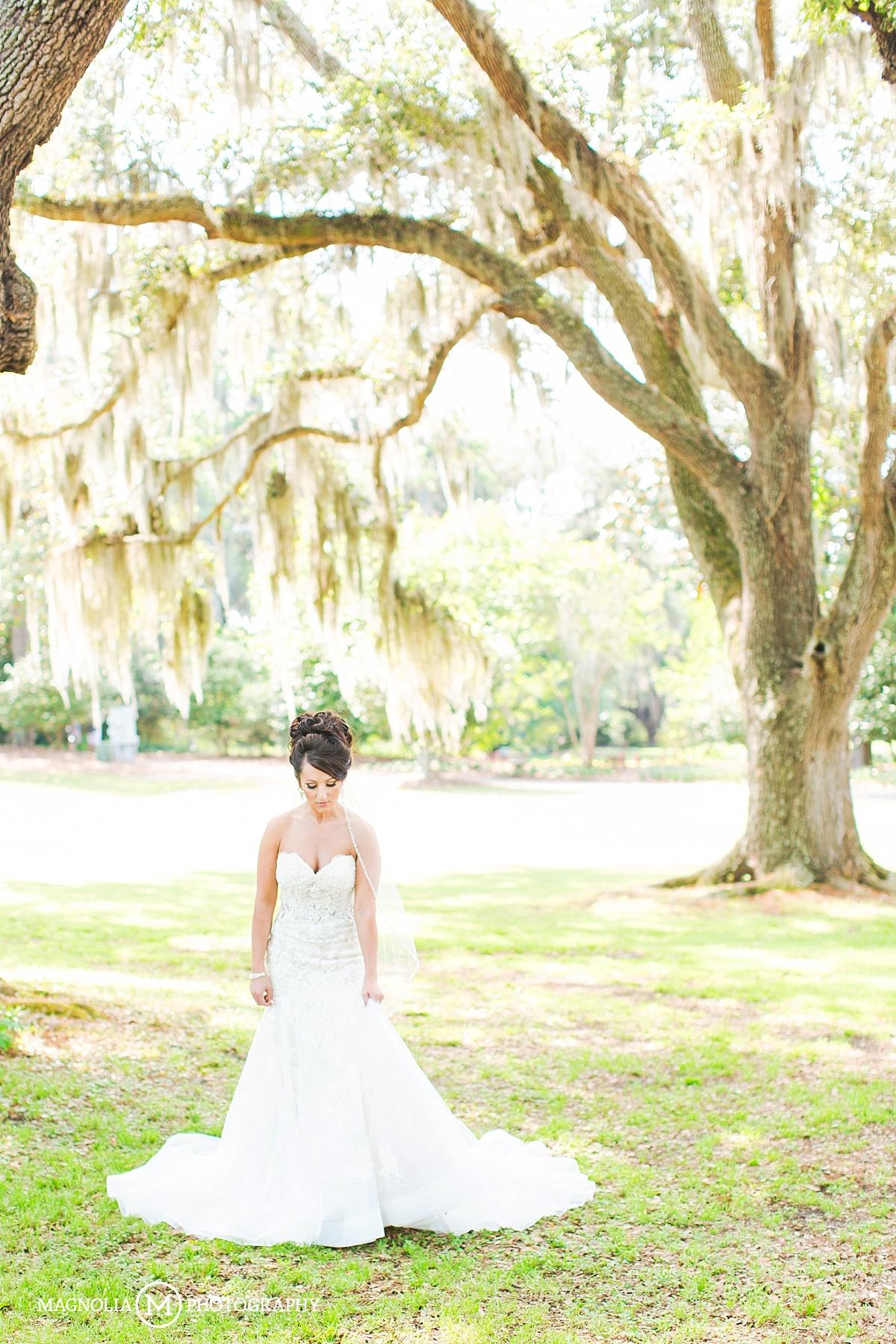 Airlie Gardens Wilmington NC Wedding Photographer Sharon Bridals