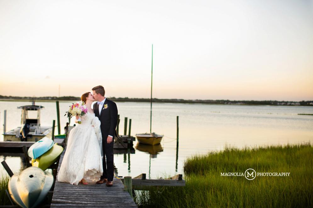 Magnolia Photography The Watson House Emerald Isle Wedding